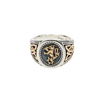 Lion Rampant Men's Ring