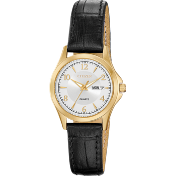 Ladies' Watch Black Leather