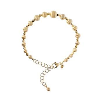 Satin Bead Bracelet