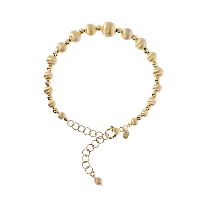Etrusca Gioielli Satin Bead Bracelet