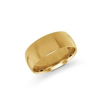 Classic Gold Band (8mm)
