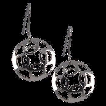 Trade Silver Modern Earrings
