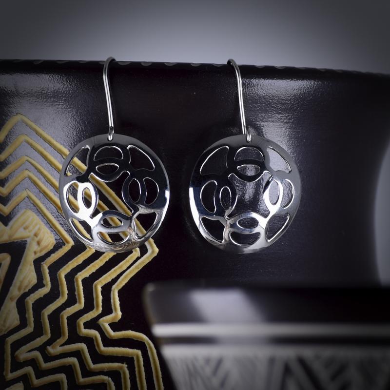 Sapling & Flint Trade Silver Modern Earrings