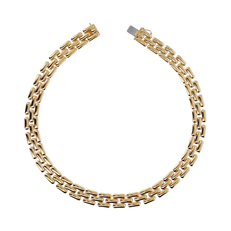 Etrusca Gioielli Mirage Effect Panther Necklace