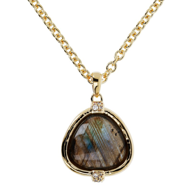 Etrusca Gioielli Long Labradorite Necklace