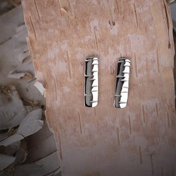 Birchbark Stud Earrings