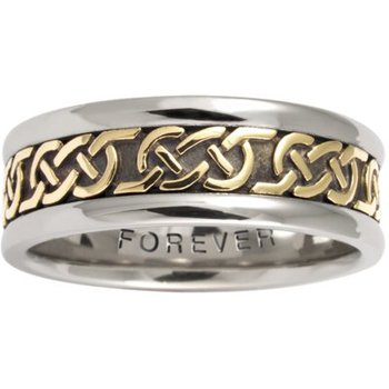Celtic 'Love Knot' Wedding Band