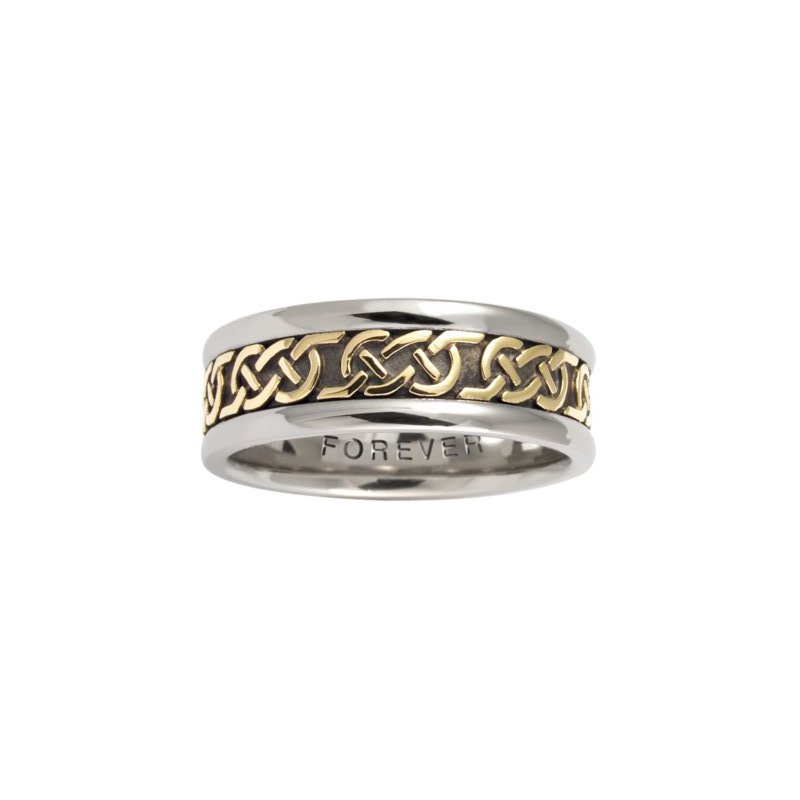 Cadman Manufacturing Co. Celtic 'Love Knot' Wedding Band