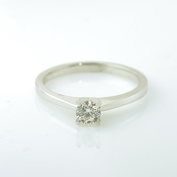 0.25CT Solitaire Engagement Ring