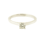 Forever Ice 0.25CT Solitaire Engagement Ring