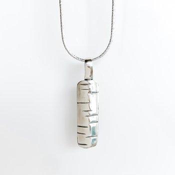 "Birchbark Necklace (20"")"