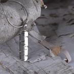 """Sapling & Flint Birchbark Necklace (20"""")"""