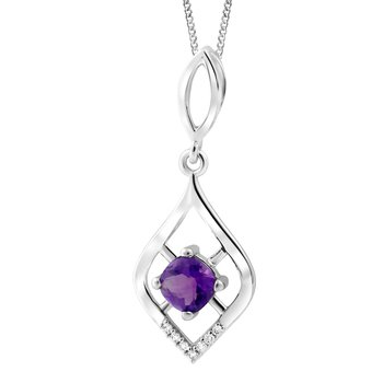 Forever Ice™ Amethyst Necklace