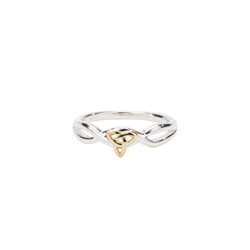 Keith Jack Trinity Knot Ring