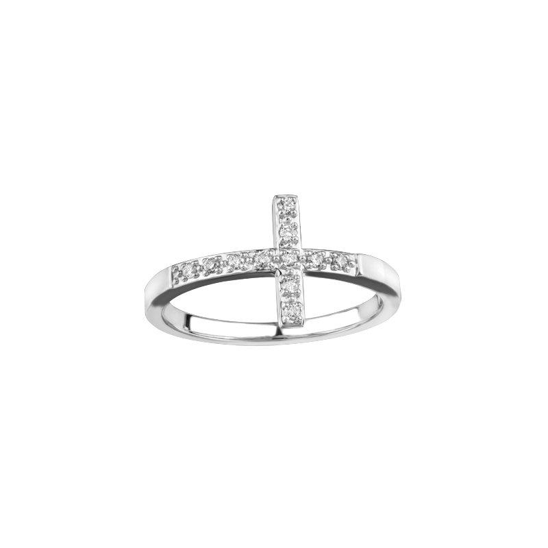 Corona Cross Ring