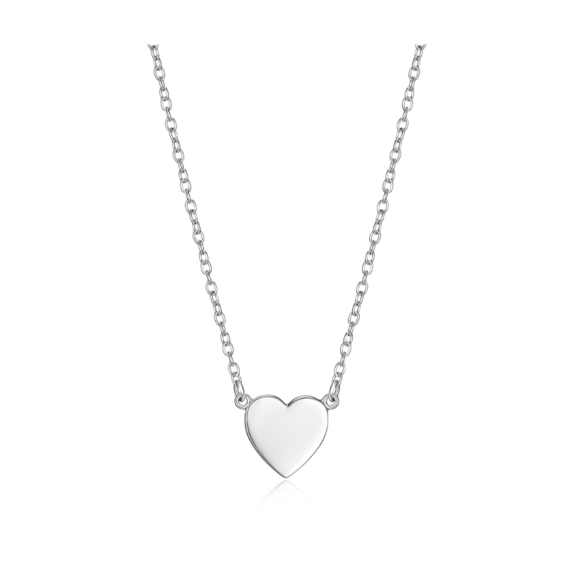 Reign Sterling Silver Heart Necklace