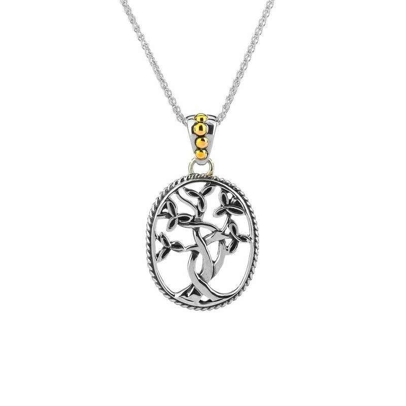 Keith Jack Celtic Tree of Life Necklace