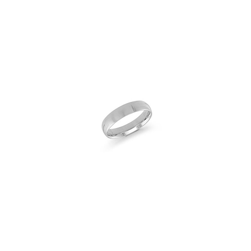 Malo Bands Classic White Gold Wedding Band (5mm)