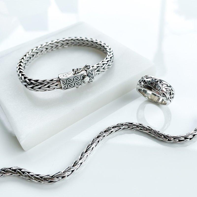 Keith Jack Dragon Weave Bracelet