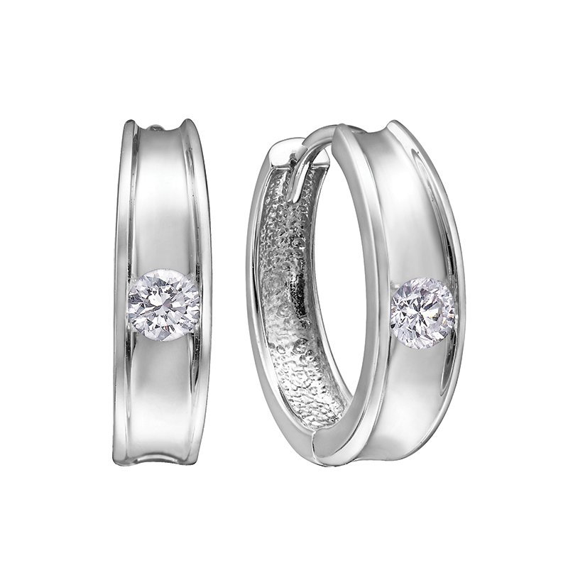 Corona Diamond Huggies