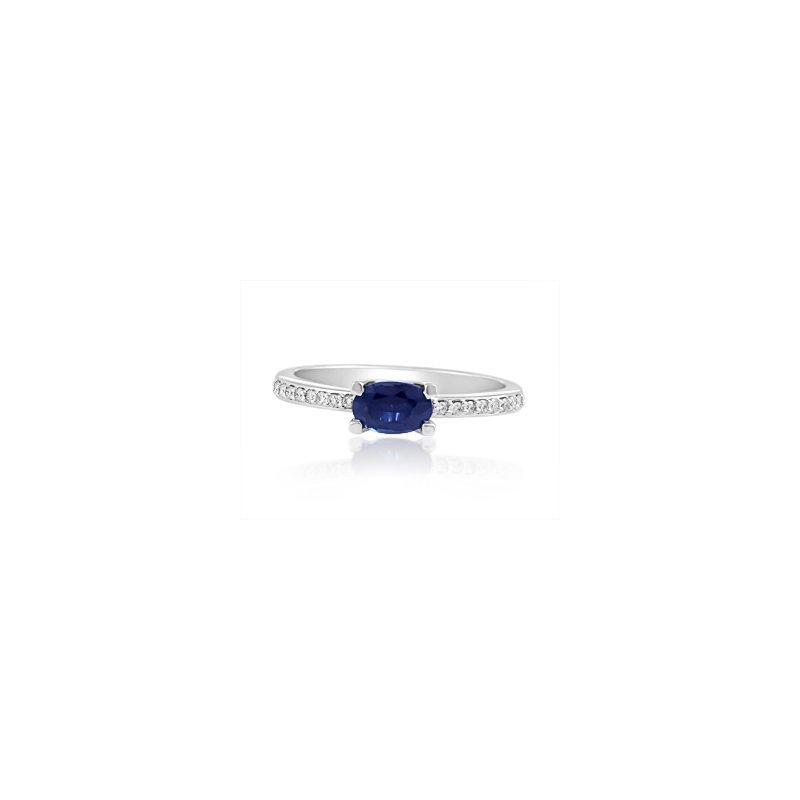 Forever Ice Sapphire & Diamond Ring