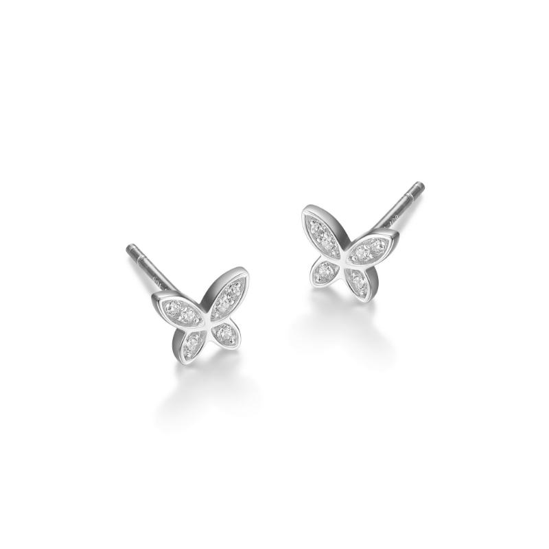 Reign Butterfly Stud Earrings