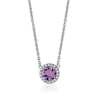Classic Amethyst Necklace