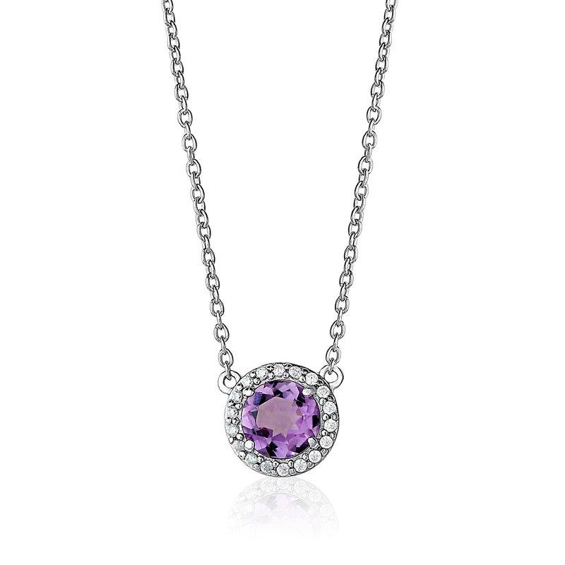 Larus Classic Amethyst Necklace