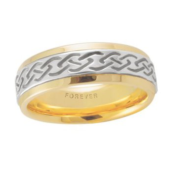 Celtic 'Link' Wedding Band