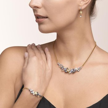 GeoCUBE® Cluster Necklace