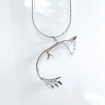 """Caribou Antler Necklace (20"""")"""
