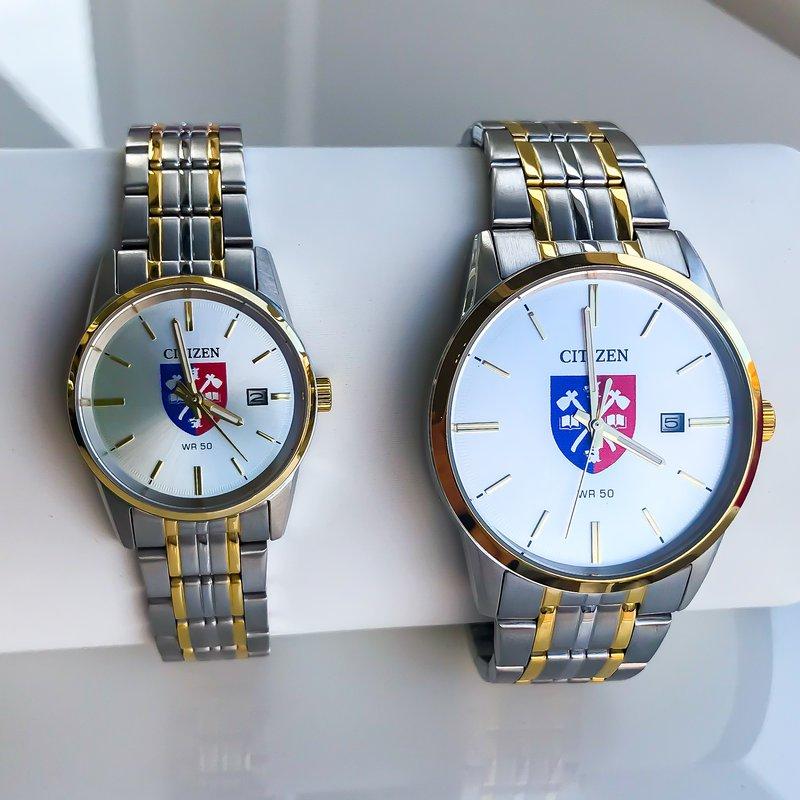Acadia Jewellery Two Tone Acadia Crest Watch