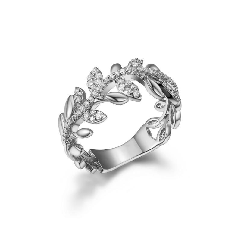 Reign Sterling Silver Vine Ring