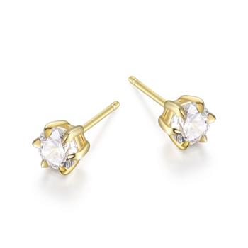 Gold Plated Diamondlite Stud Earrings