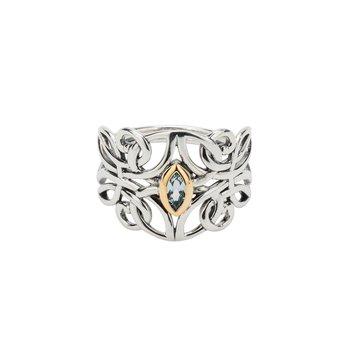 Guardian Angel Ring (Blue Topaz)