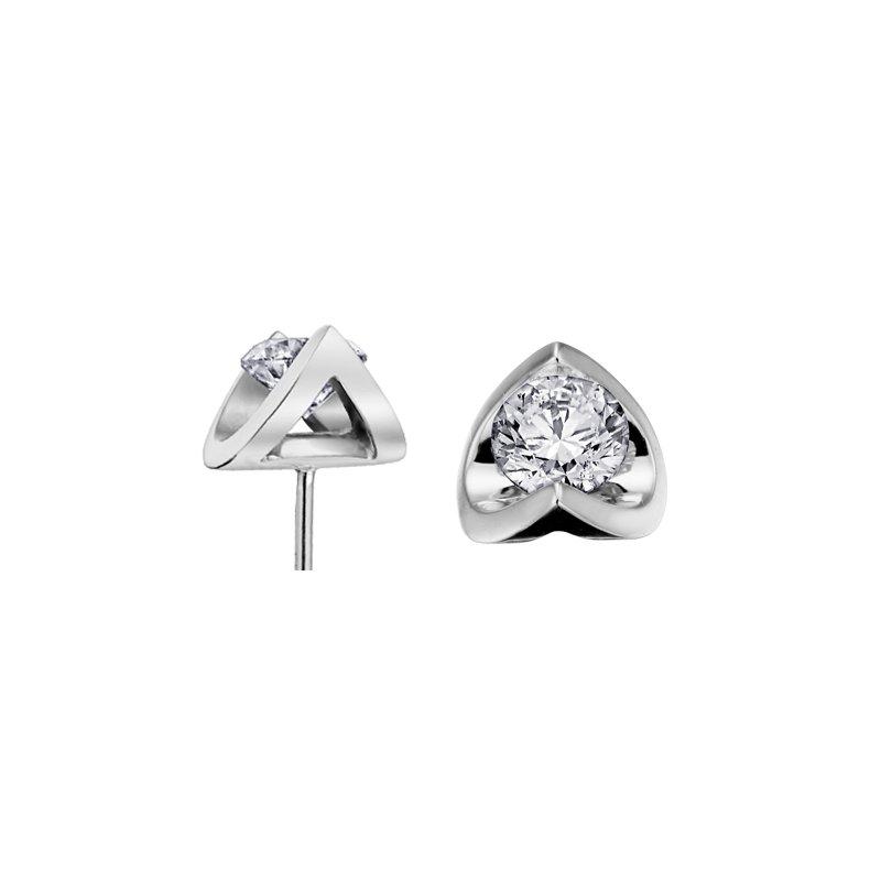 Corona 0.40CT Diamond Stud Earrings