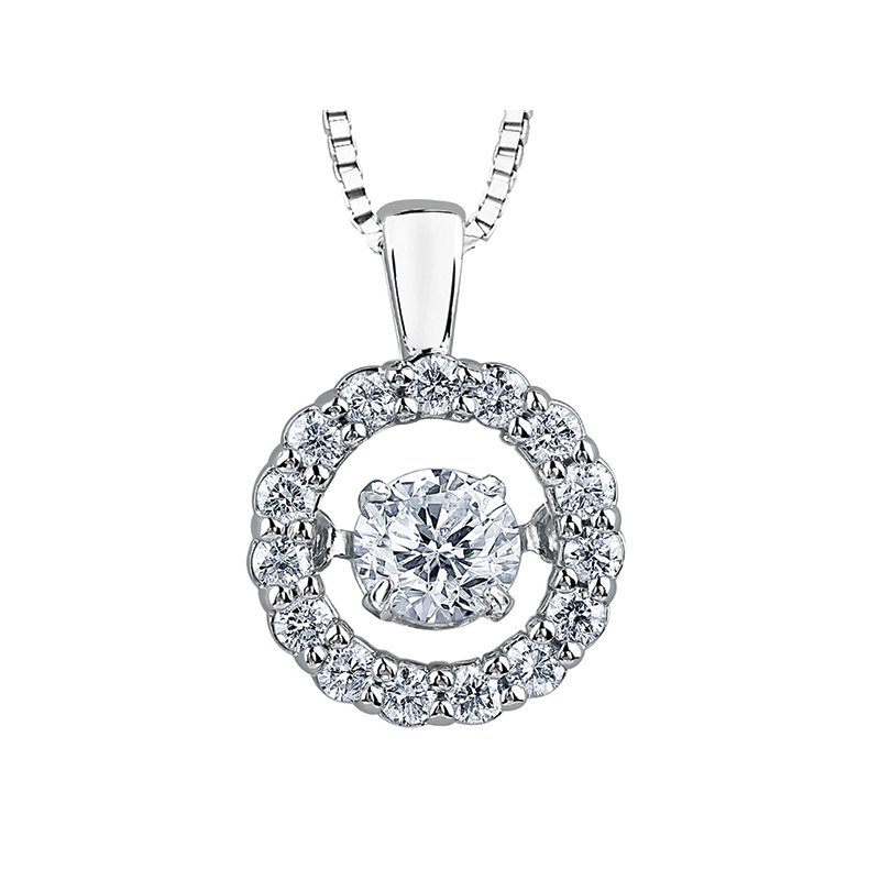 "Corona Diamond ""Pulse"" Pendant"