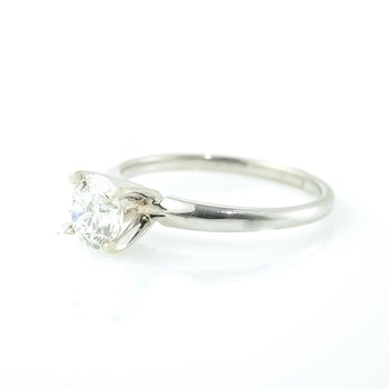 0.90CT Solitaire Engagement Ring