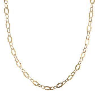 Long Velvet Open Link Necklace