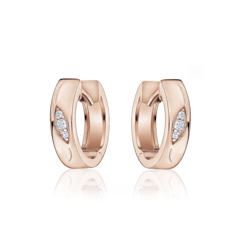 Larus Rose Gold Plated Earrings