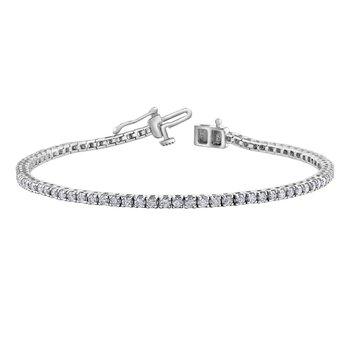 2.00CT Diamond Tennis Bracelet