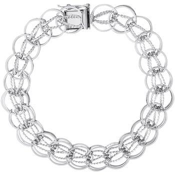 Round Fancy Link Bracelet