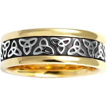 Celtic 'Trinity Knot' Wedding Band