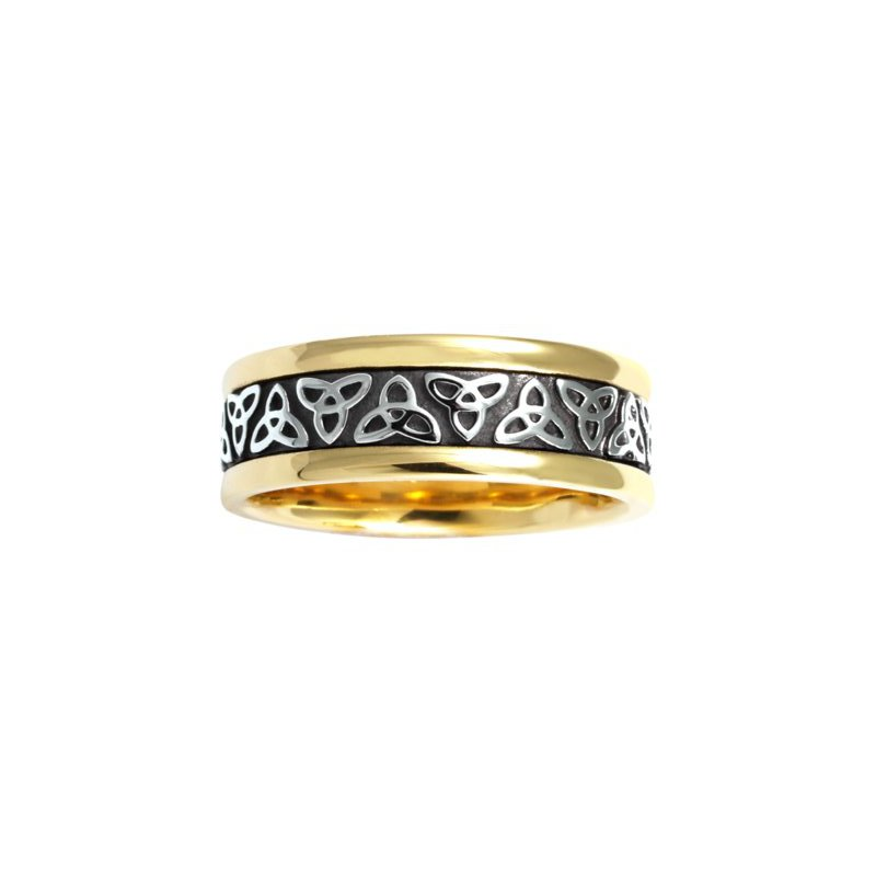 Cadman Manufacturing Co. Celtic 'Trinity Knot' Wedding Band