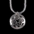 """Sapling & Flint Trade Silver Modern Necklace (20"""")"""