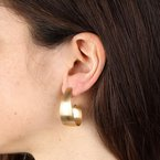 Etrusca Gioielli Velvet Finish Earrings