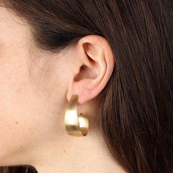 Velvet Finish Earrings