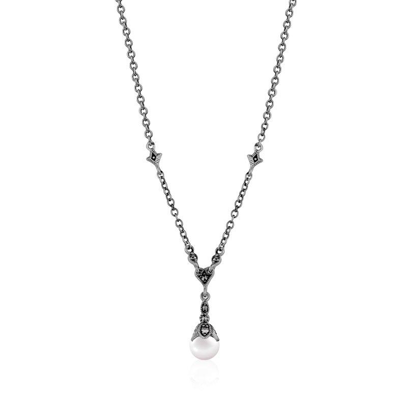 Larus Vintage Pearl Necklace