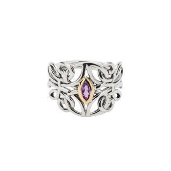 Guardian Angel Ring (Amethyst)