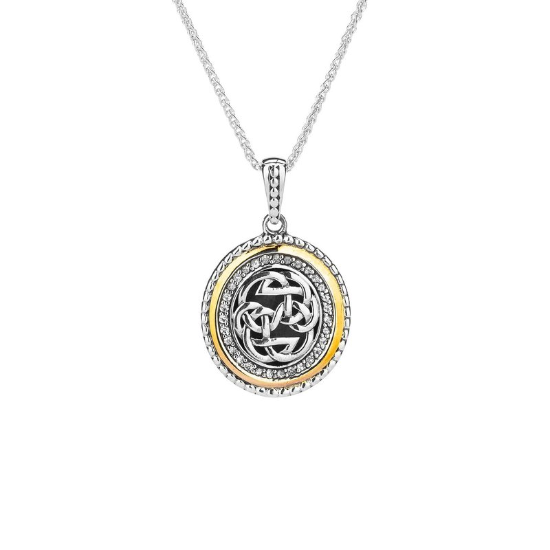 Keith Jack Path of Life Necklace (White Sapphire)